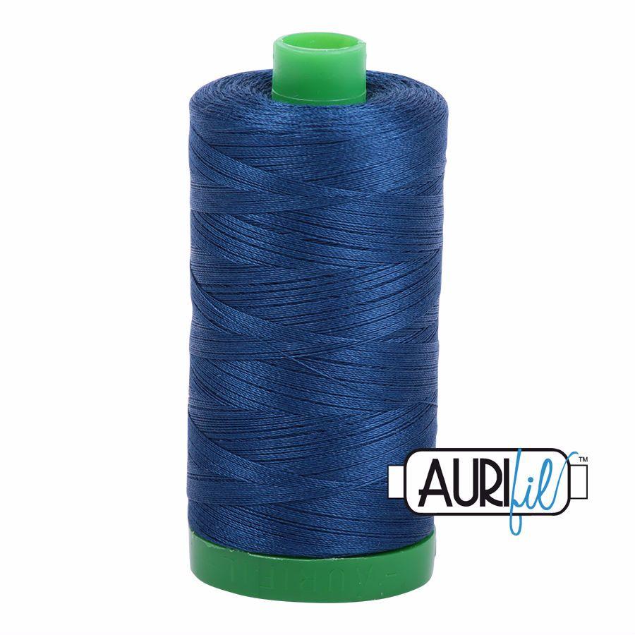 Aurifil Cotton 40wt, 2783 Medium Delft Blue