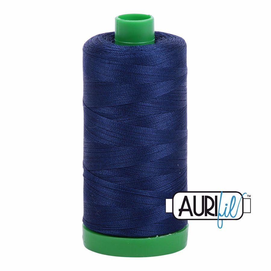 Aurifil Cotton 40wt, 2784 Dark Navy
