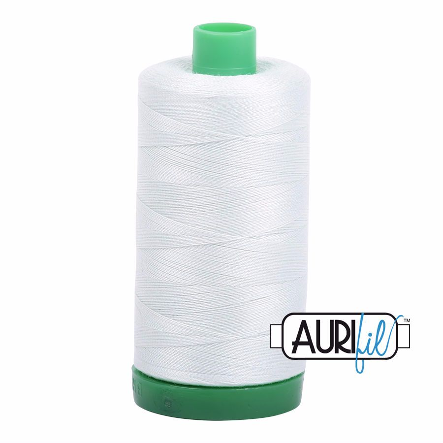 Aurifil Cotton 40wt, 2800 Mint Ice
