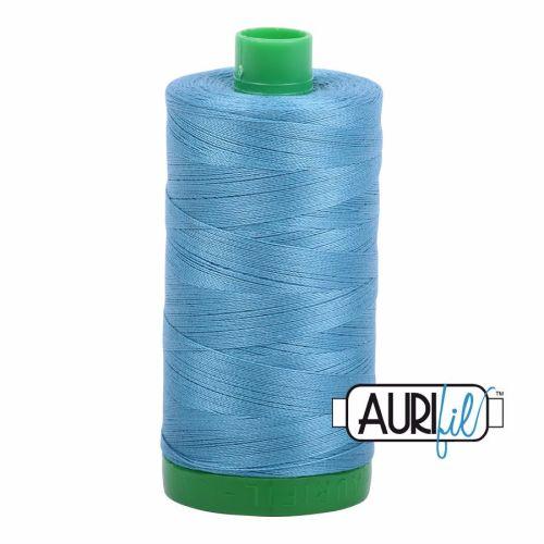 Aurifil Cotton 40wt, 2815 Teal