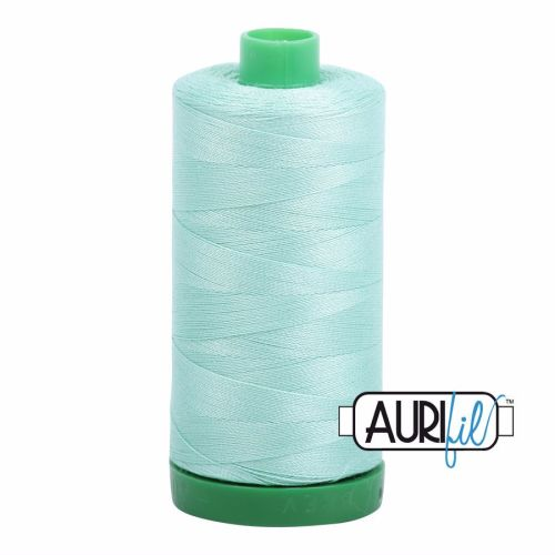 Aurifil Cotton 40wt, 2835 Medium Mint