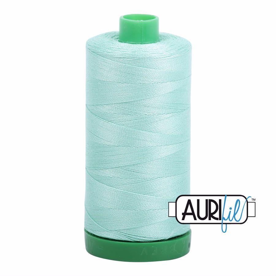 Aurifil Cotton 40wt, 2835 Medium Mint