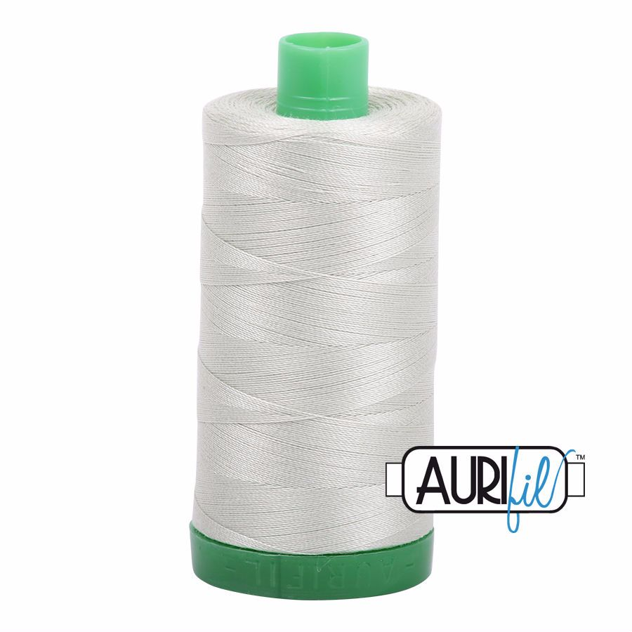 Aurifil Cotton 40wt, 2843 Light Grey Green