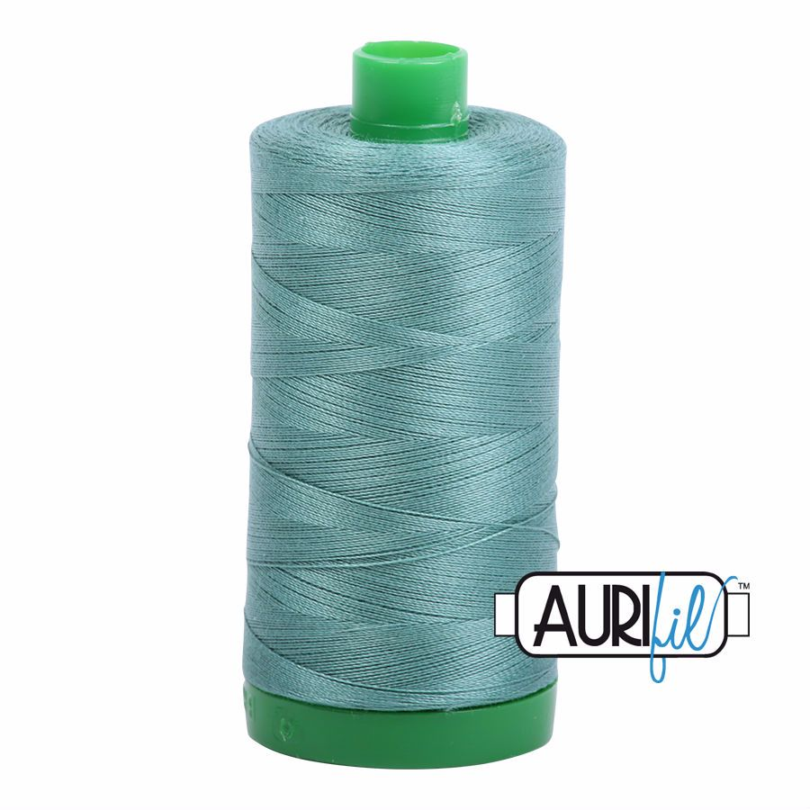 Aurifil Cotton 40wt, 2850 Medium Juniper