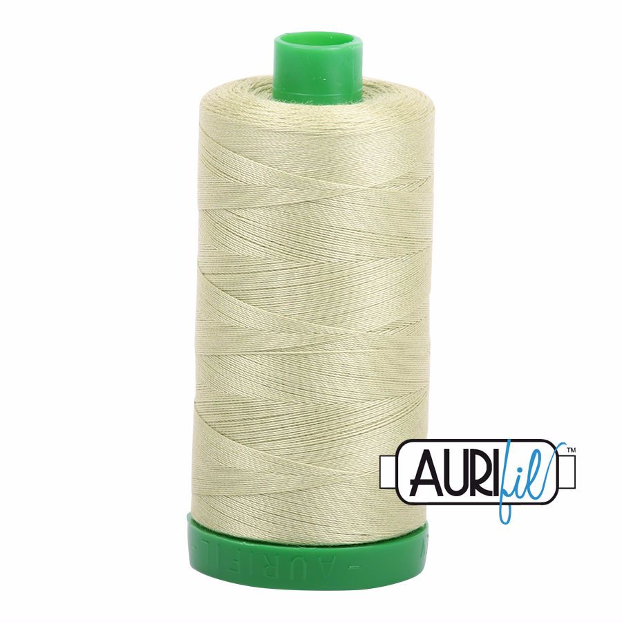 Aurifil Cotton 40wt, 2886 Light Avocado