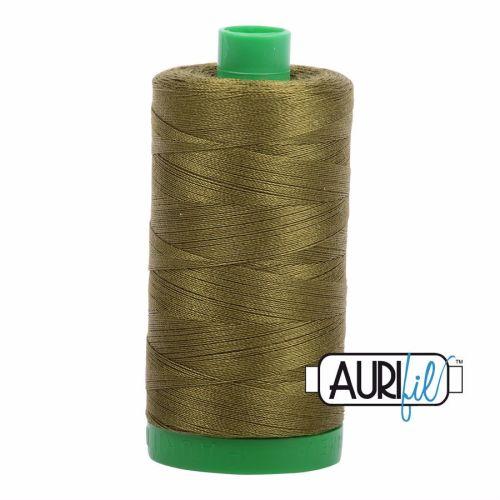 Aurifil Cotton 40wt, 2887 Very Dark Olive