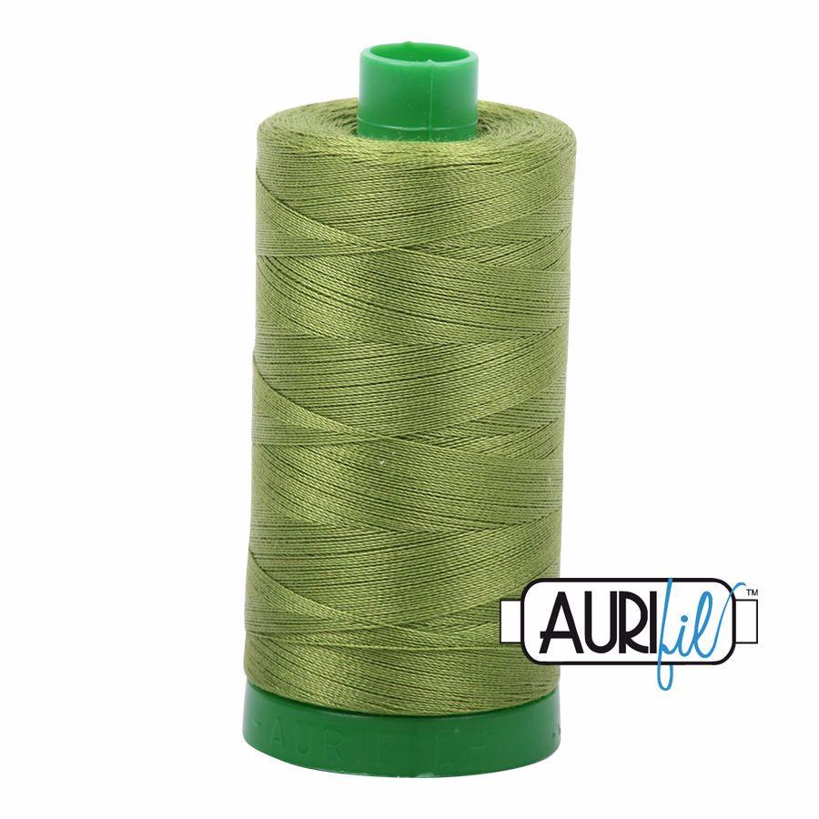 Aurifil Cotton 40wt, 2888 Fern Green