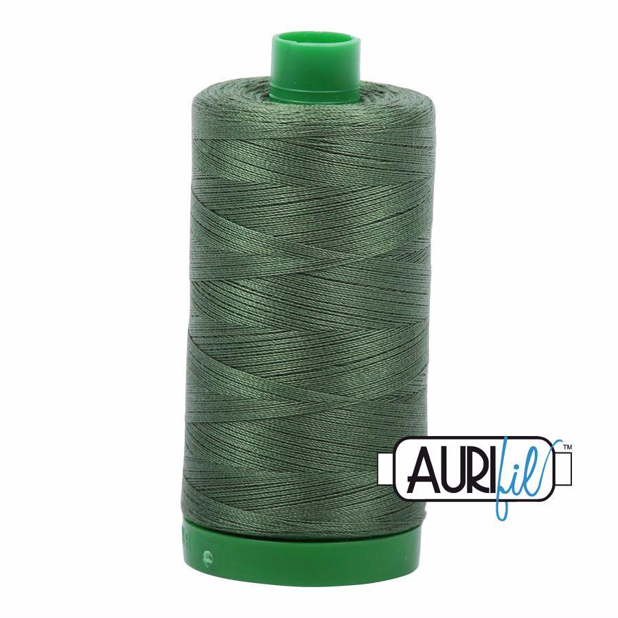 Aurifil Cotton 40wt, 2890 Very Dark Grass Green