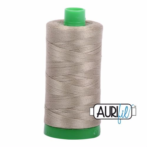 Aurifil Cotton 40wt, 2900 Light Kahki Green