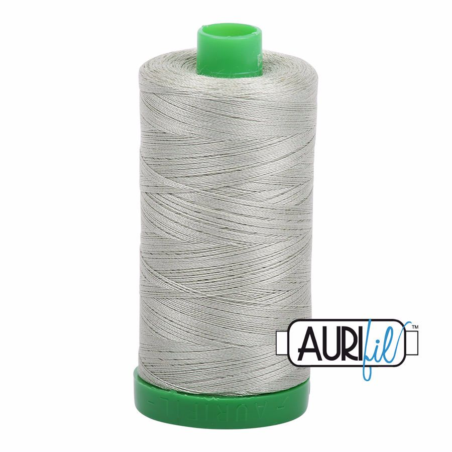 Aurifil Cotton 40wt, 2902 Light Laurel Green