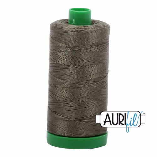 Aurifil Cotton 40wt, 2905 Army Green