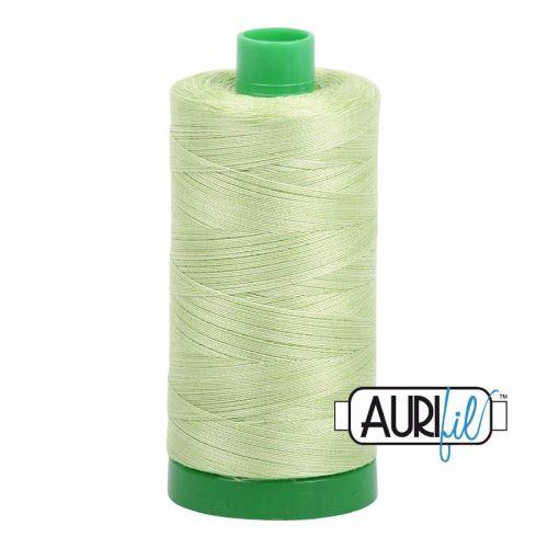 Aurifil Cotton 40wt, 3320 Light Spring Green