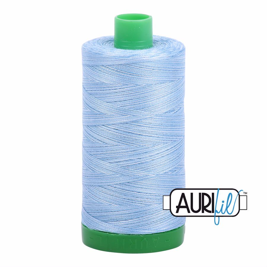Aurifil Cotton 40wt, 3770 Stone Washed Denim