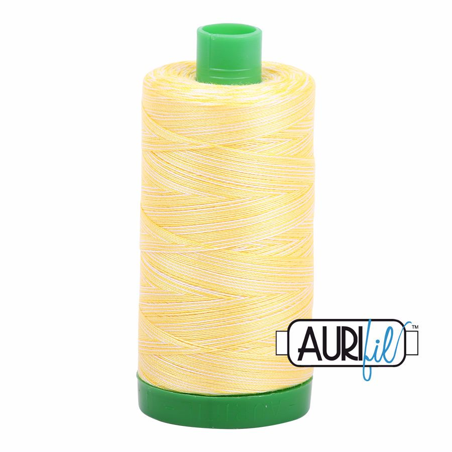 Aurifil Cotton 40wt, 3910 Lemon Ice