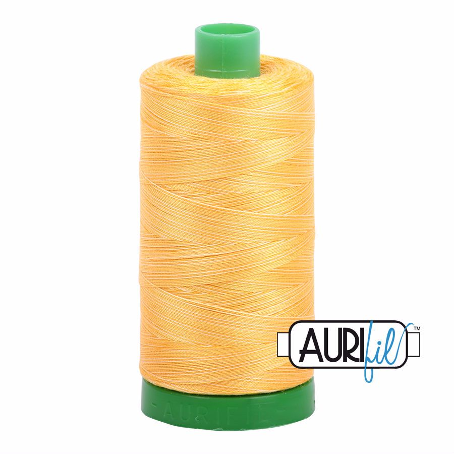 Aurifil Cotton 40wt, 3920 Golden Glow