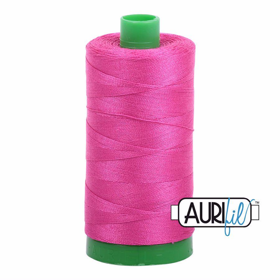 Aurifil Cotton 40wt, 4020 Fuchsia