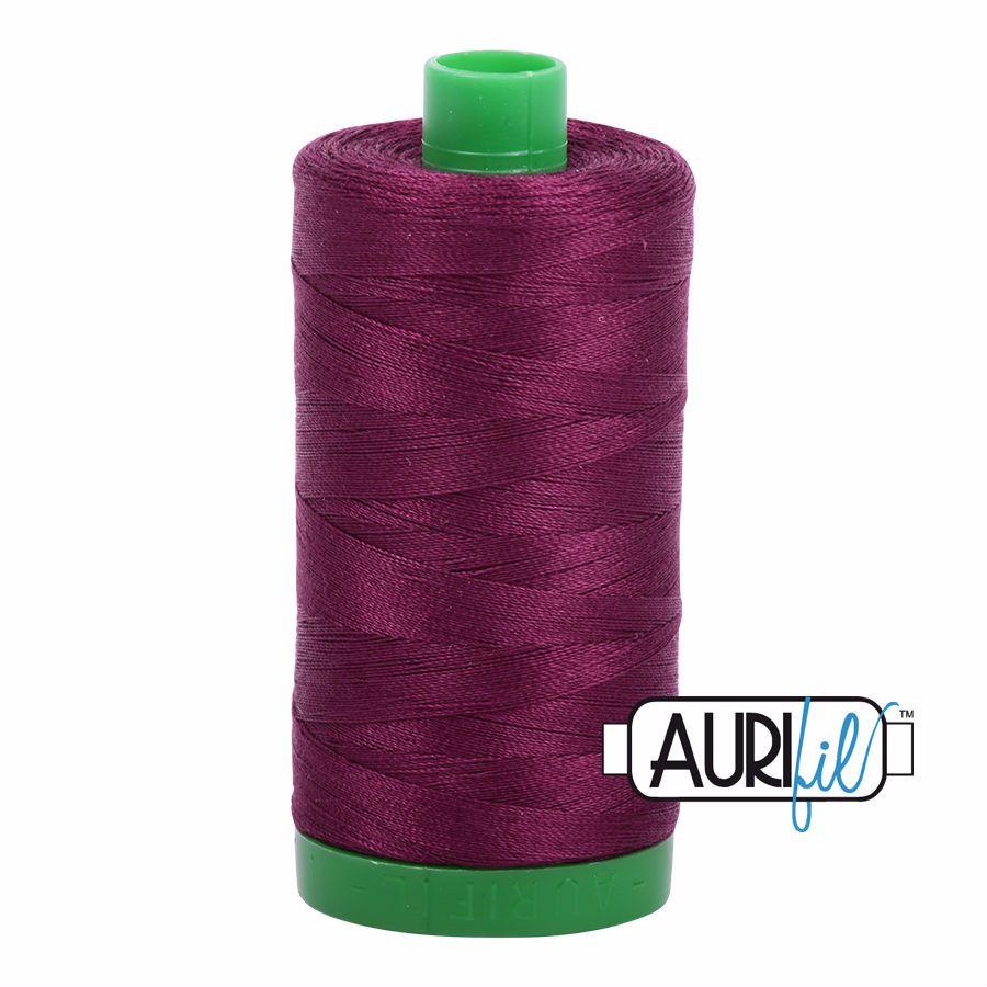 Aurifil Cotton 40wt, 4030 Plum
