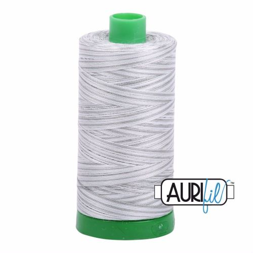 Aurifil Cotton 40wt, 4060 Silver Moon