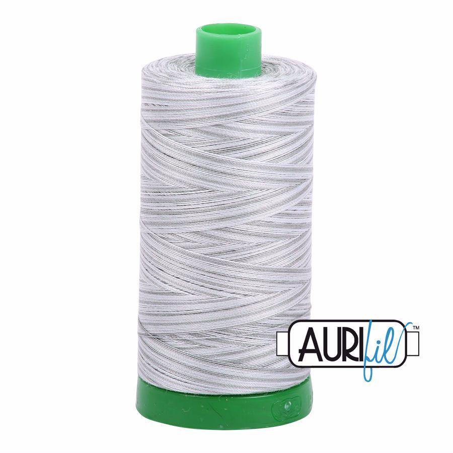 Aurifil Cotton 40wt, 4060 Silver Moon