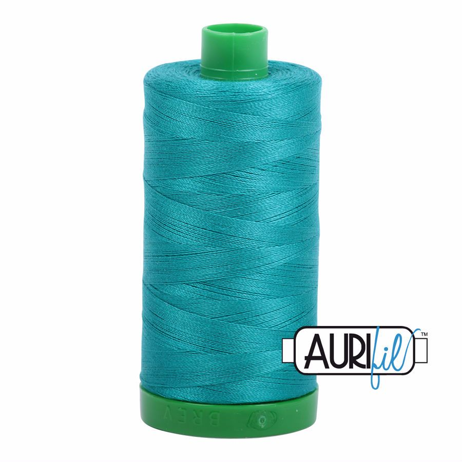 Aurifil Cotton 40wt, 4093 Jade