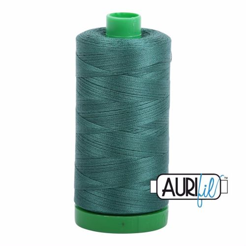 Aurifil Cotton 40wt, 4129 Turf Green