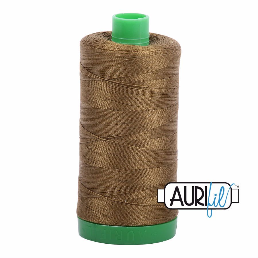 Aurifil Cotton 40wt, 4173 Dark Olive