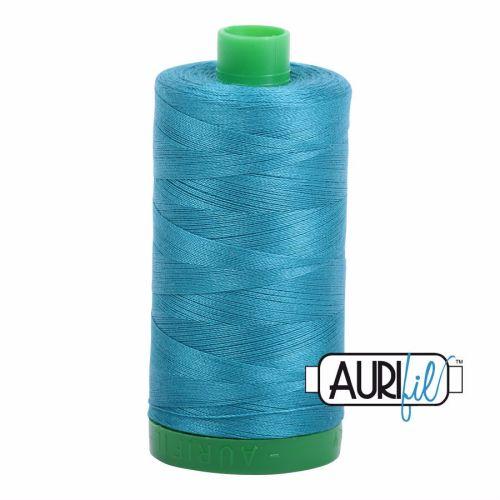 Aurifil Cotton 40wt, 4182 Dark Turquoise