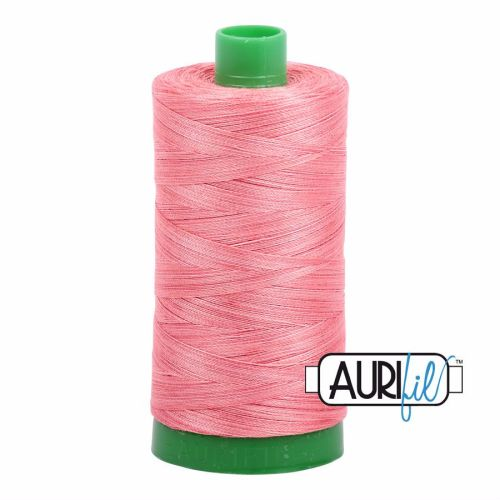 Aurifil Cotton 40wt, 4250 Flamingo
