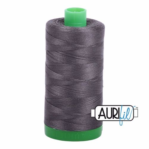 Aurifil Cotton 40wt, 2630 Dark Pewter