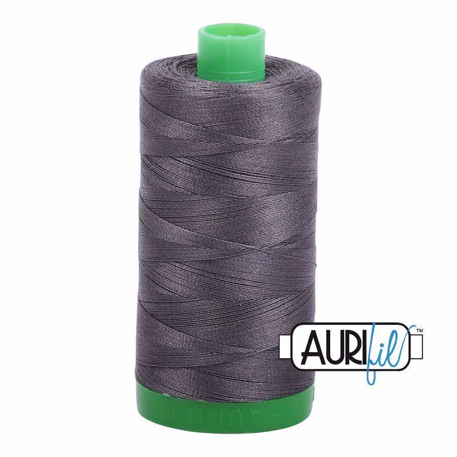 Aurifil Cotton 40wt, 2630 Dark Pewter