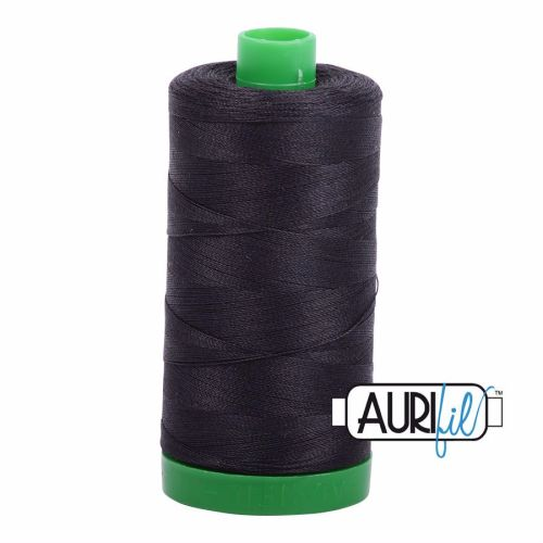 Aurifil Cotton 40wt, 4241 Very Dark Grey