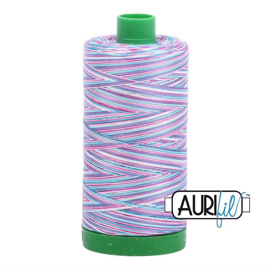 Aurifil Cotton 40wt, 4647 Berrylicious