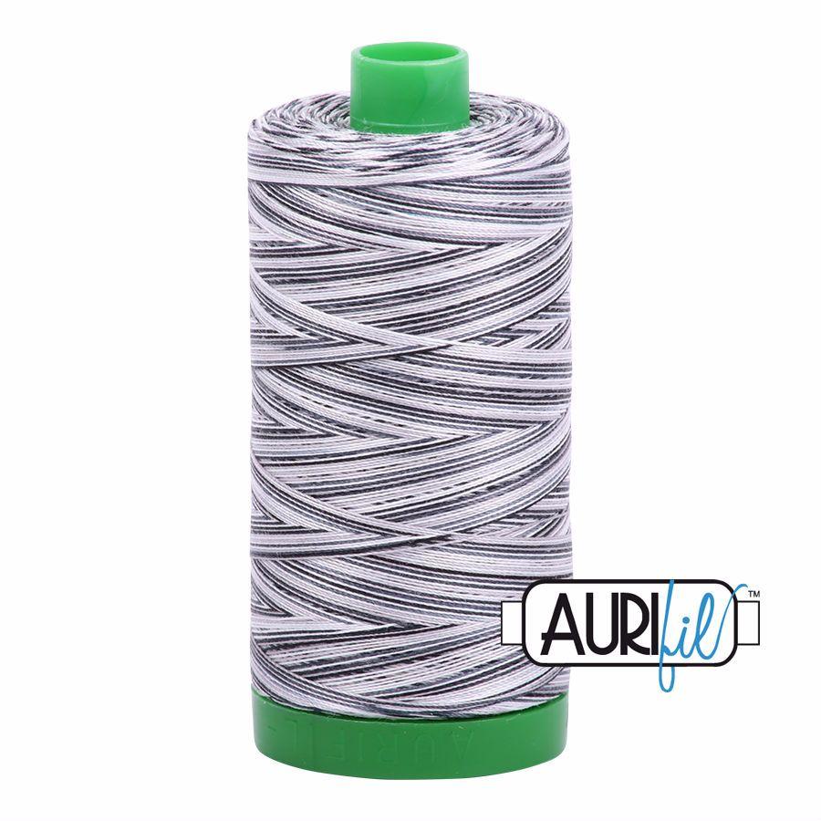 Aurifil Cotton 40wt, 4652 Licorice Twist