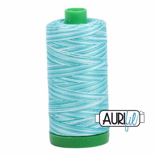 Aurifil Cotton 40wt, 4654 Turquoise Foam