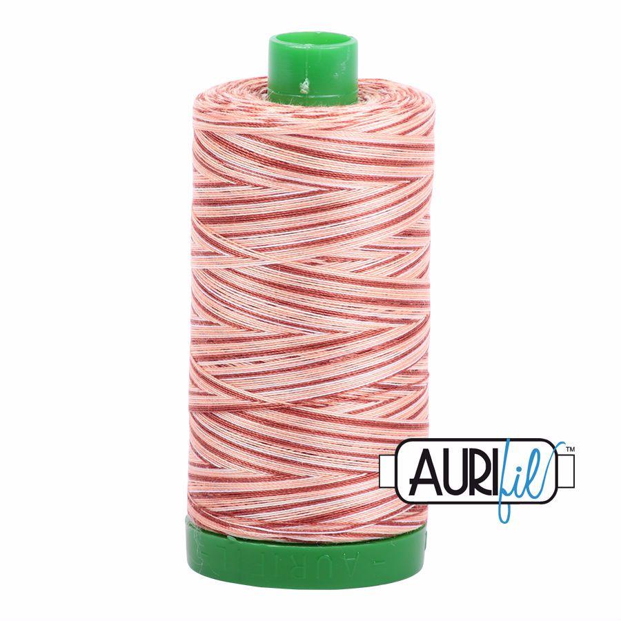 Aurifil Cotton 40wt, 4656 Cinnamon Sugar