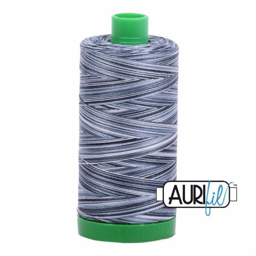Aurifil Cotton 40wt, 4665 Graphite