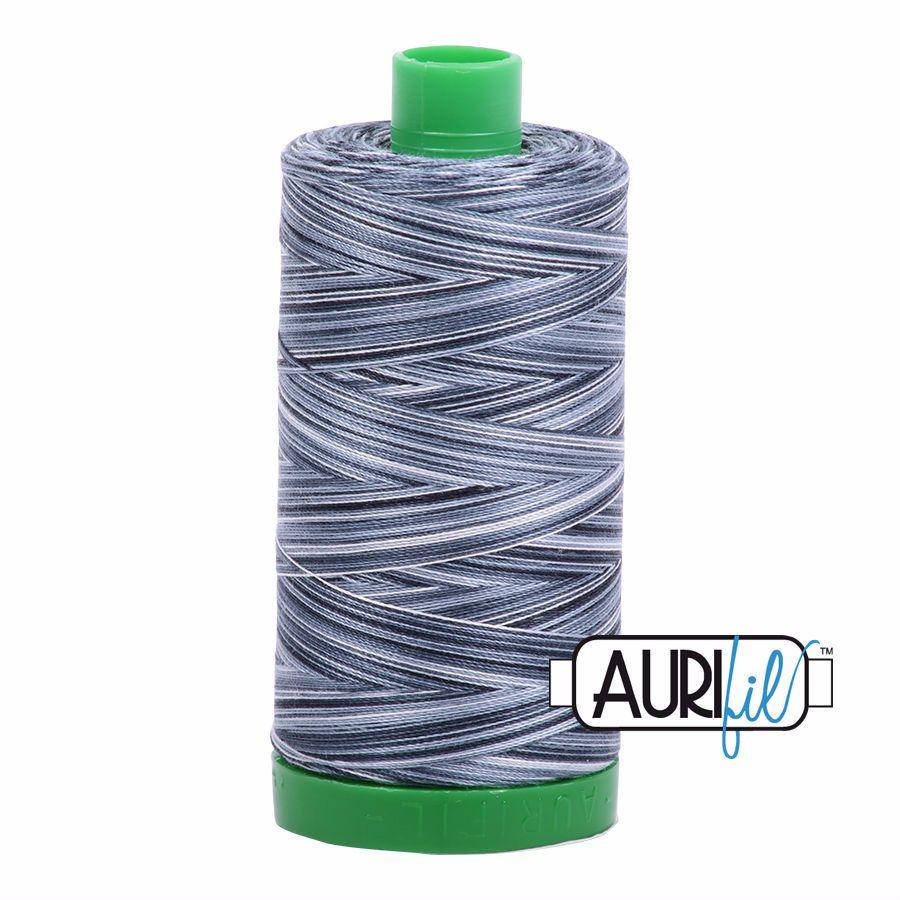 Aurifil Cotton 40wt, 4665 Graphite