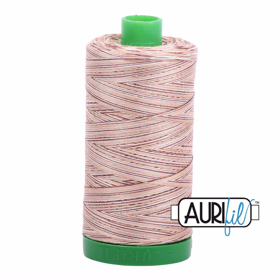 Aurifil Cotton 40wt, 4666 Biscotti