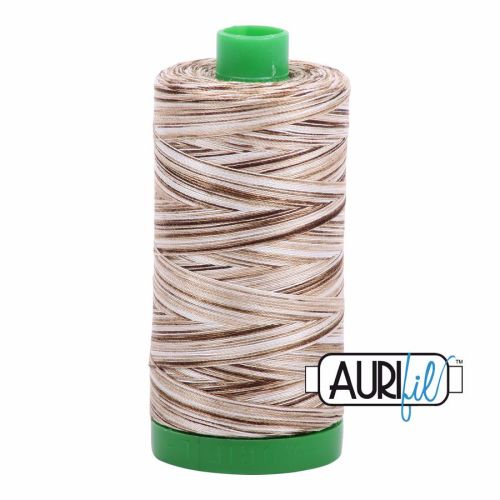 Aurifil Cotton 40wt, 4667 Nutty Nougat