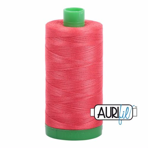 Aurifil Cotton 40wt, 5002 Medium Red