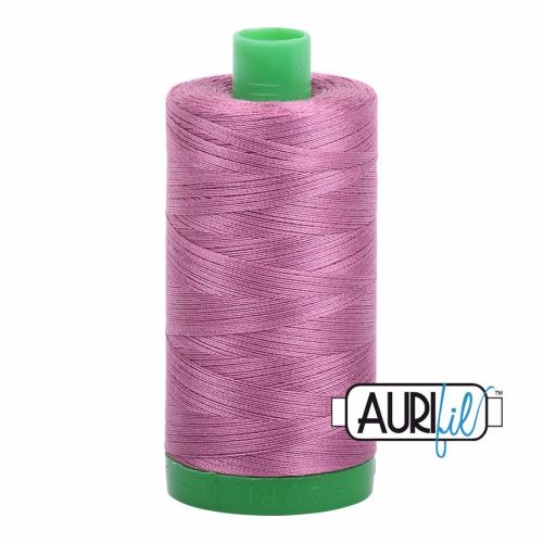 Aurifil Cotton 40wt, 5003 Wine