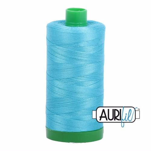 Aurifil Cotton 40wt, 5005 Bright Turquoise