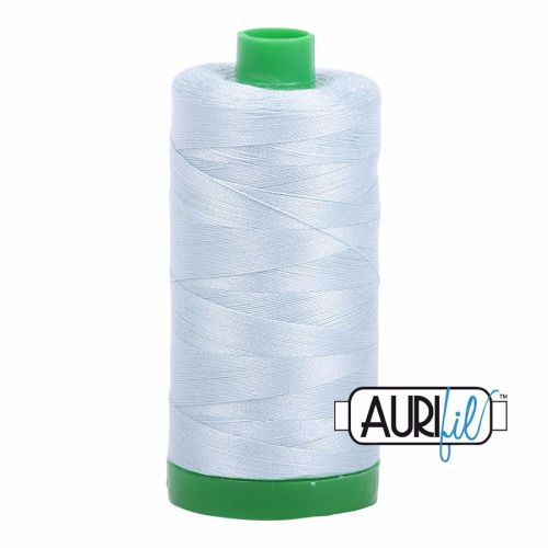 Aurifil Cotton 40wt, 5007 Light Grey Blue