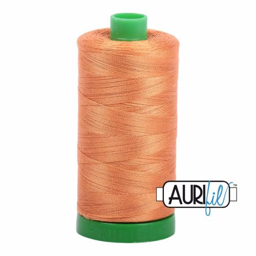 Aurifil Cotton 40wt, 5009 Medium Orange