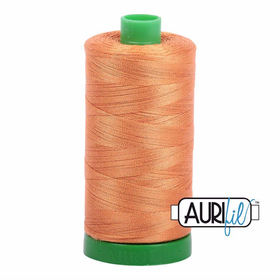 Aurifil Cotton 40wt, 5009 Medium Orange