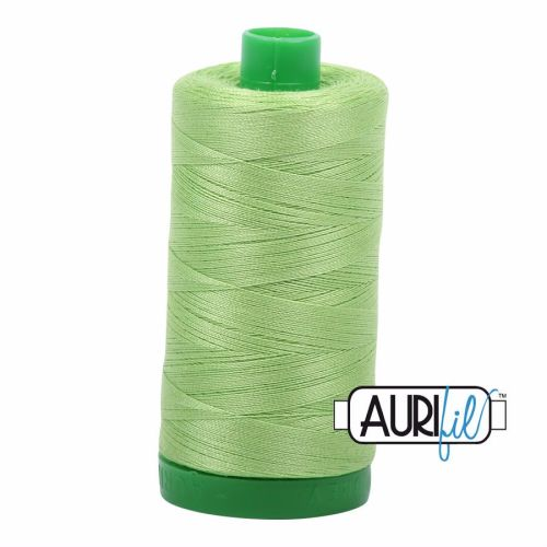 Aurifil Cotton 40wt, 5017 Shining Green