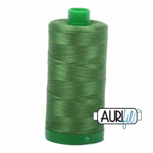 Aurifil Cotton 40wt, 5018 Dark Grass Green