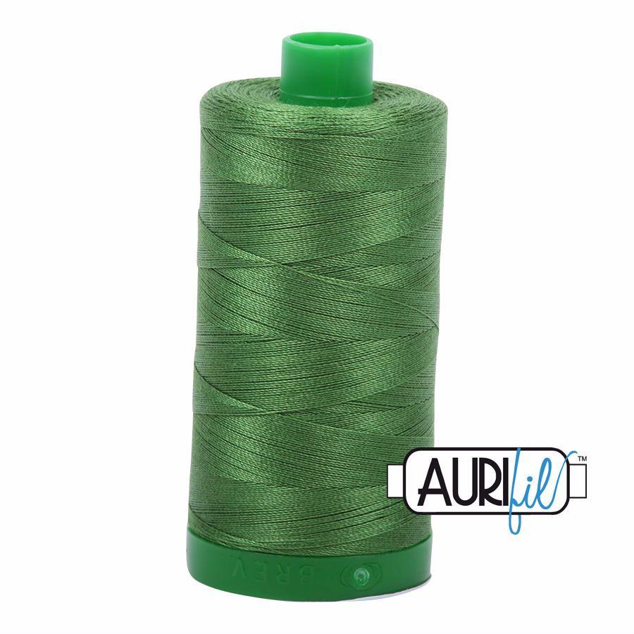 Aurifil Cotton 40wt, 5018 Dark Grass Green