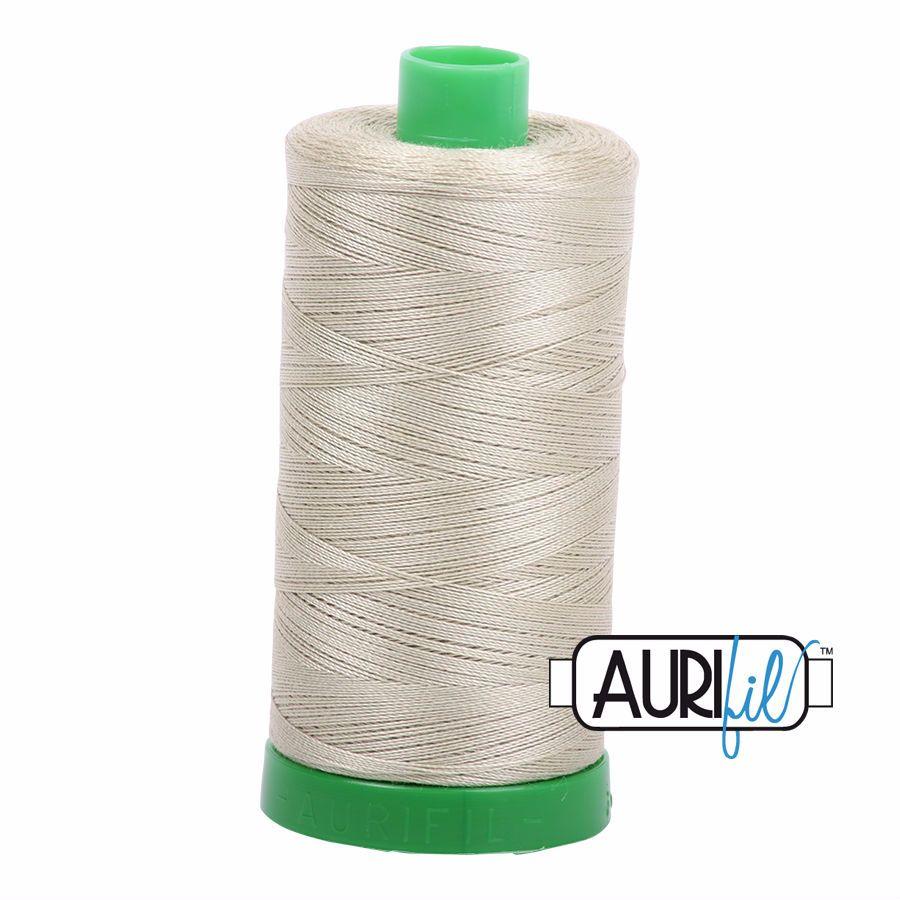 Aurifil Cotton 40wt, 5020 Light Military Green