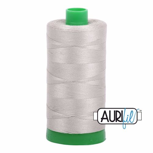 Aurifil Cotton 40wt, 5021 Light Grey